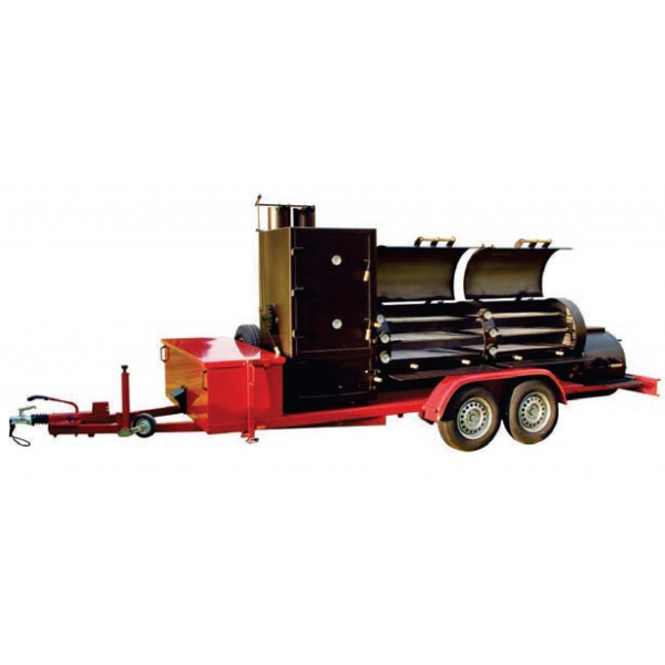 "30"" Extended Catering Smoker Trailer"